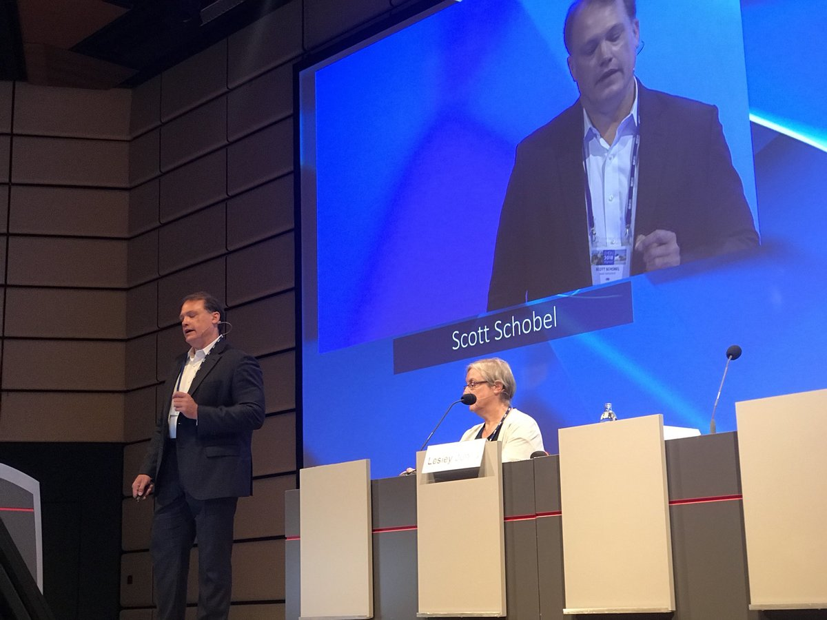 Scott Schobel kondigde de GENERATION-HD1 studie aan op de European Huntington's Disease Conferentie  in Wenen